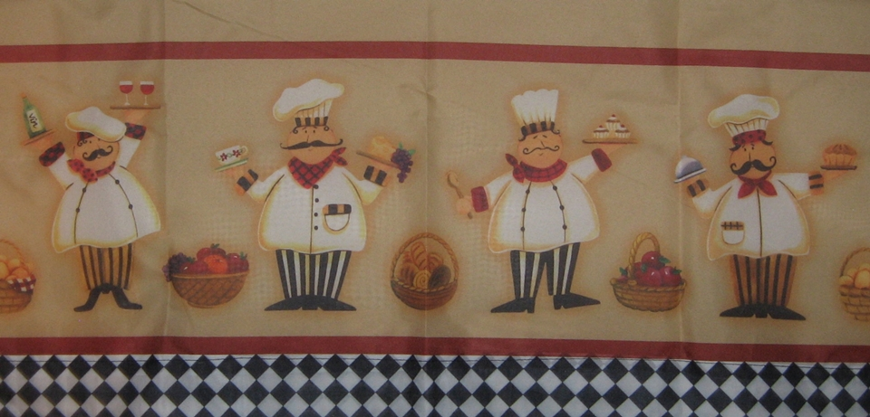 Lovely 10 Photos To Fat Chef Kitchen Curtains