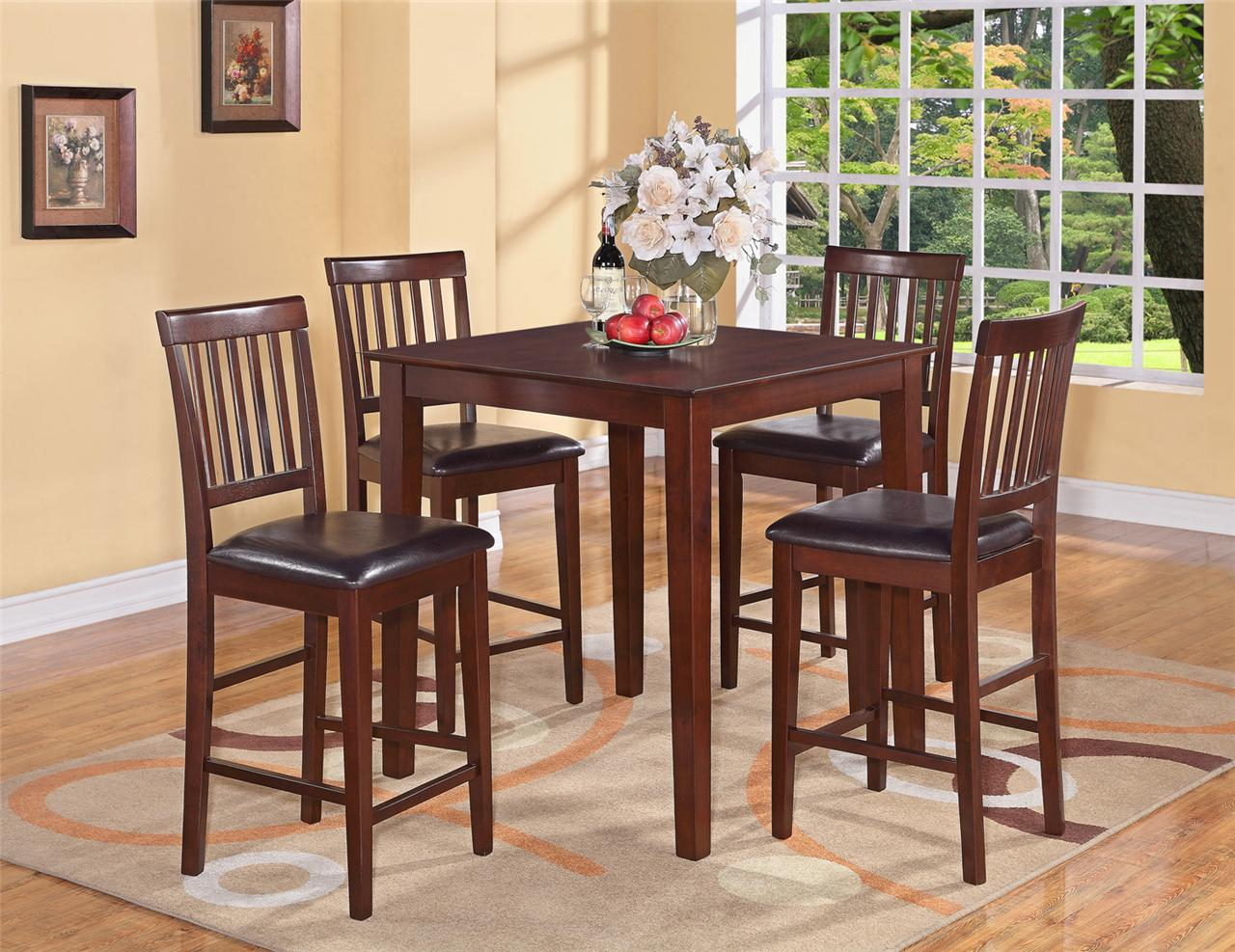 Faux leather kitchen chairs Photo - 1