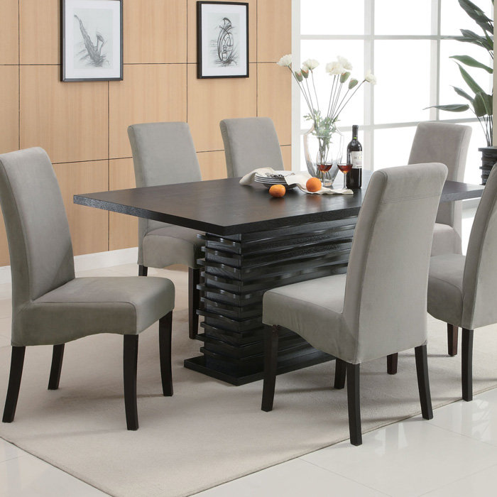 Faux leather kitchen chairs Photo - 4