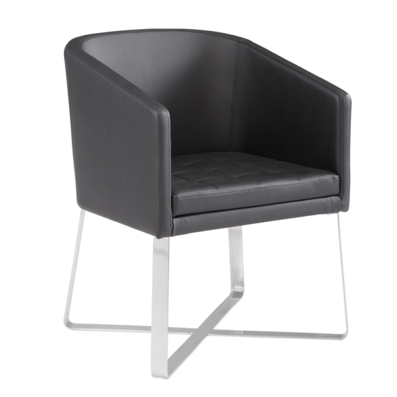 Faux leather kitchen chairs Photo - 6