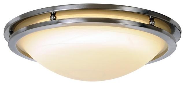Flush mount fluorescent kitchen lighting Photo - 11