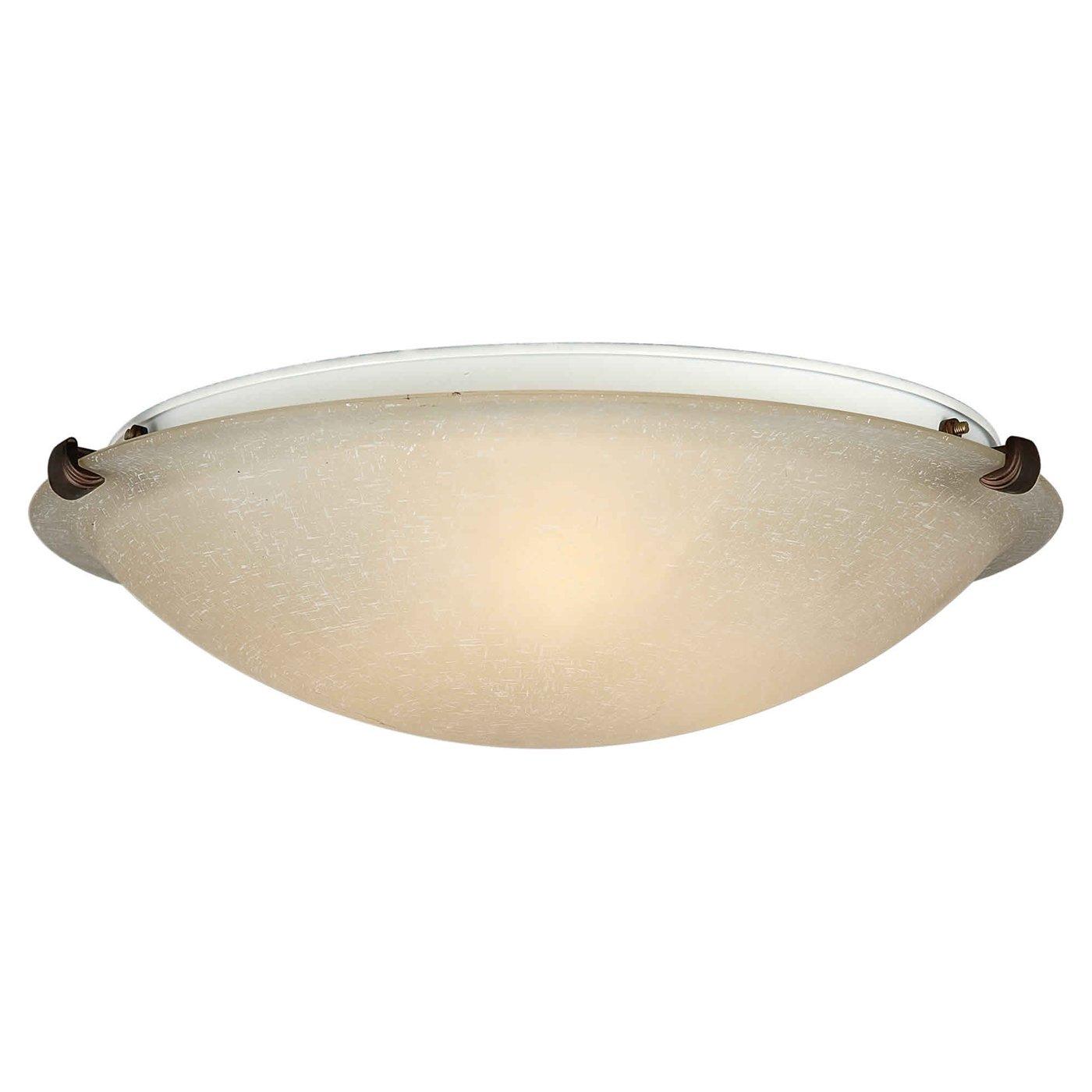 Flush mount fluorescent kitchen lighting Photo - 1