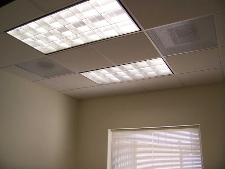 Flush mount fluorescent kitchen lighting Photo - 5