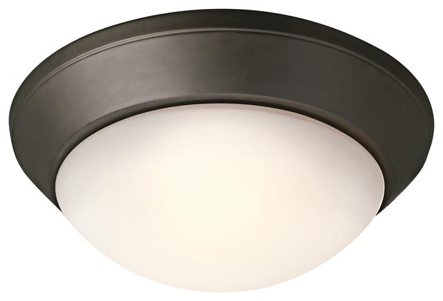 Flush mount fluorescent kitchen lighting Photo - 7