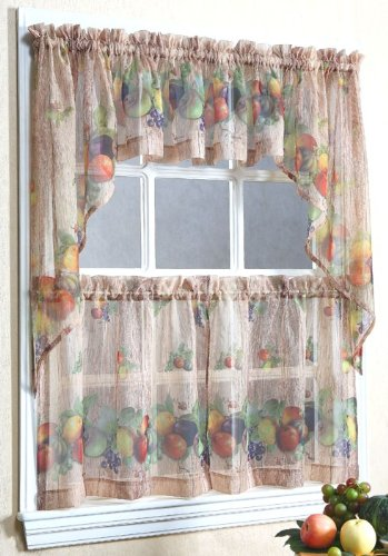 Fruit Kitchen Curtains Photo 1