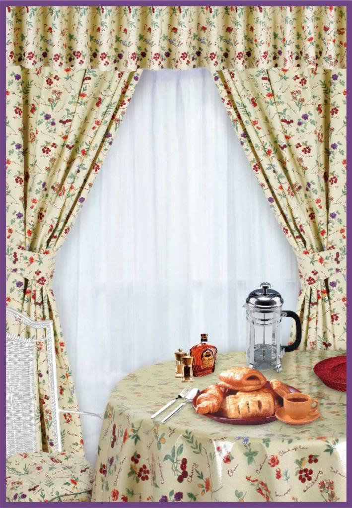 Fruit kitchen curtains Photo - 9 | Kitchen ideas
