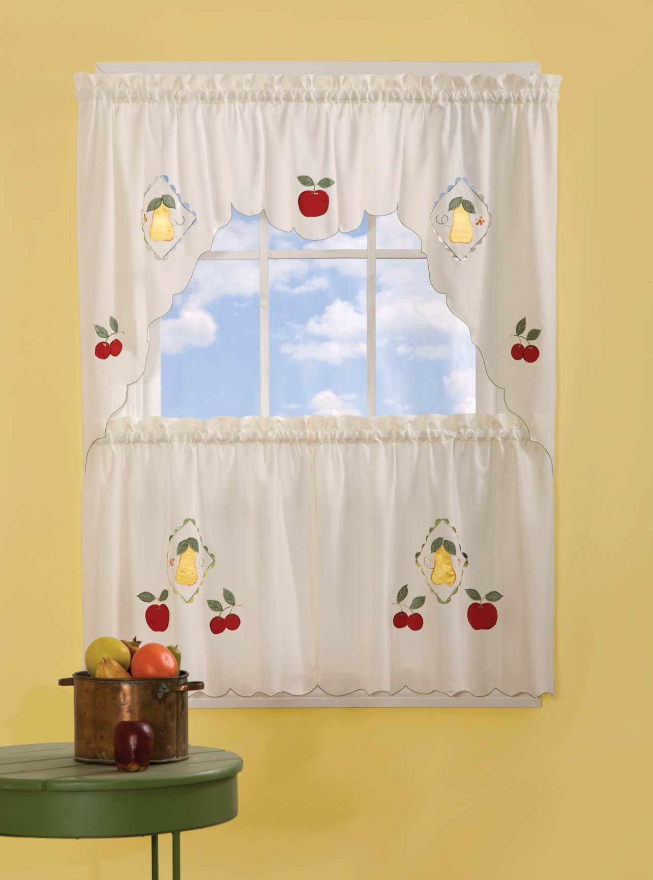 Fruit Kitchen Curtains Photo 11