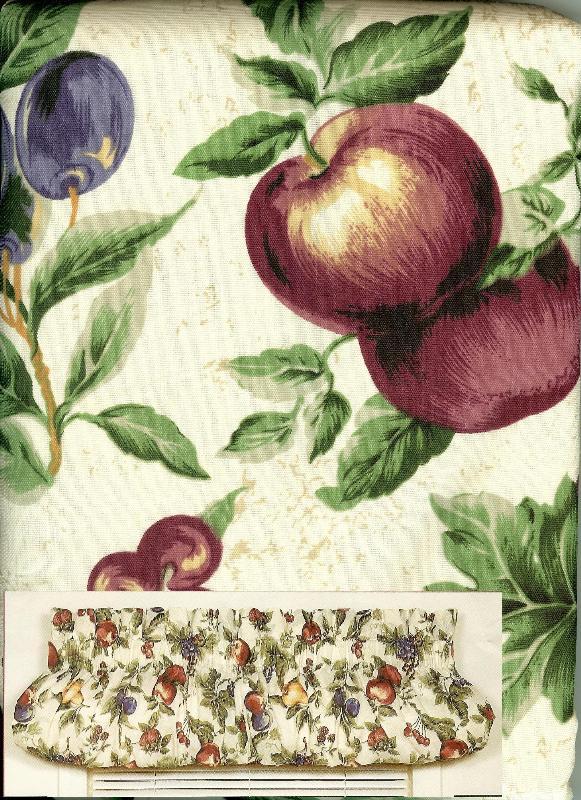 Fruit kitchen curtains Photo - 6 | Kitchen ideas