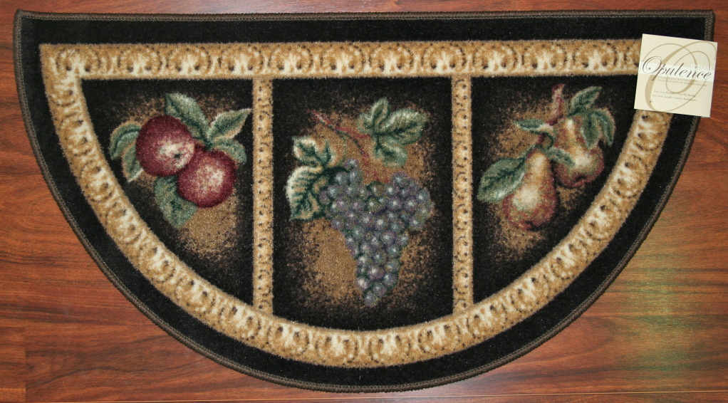Fruit kitchen rugs photo 2 kitchen ideas for Kitchen rugs with fruit design