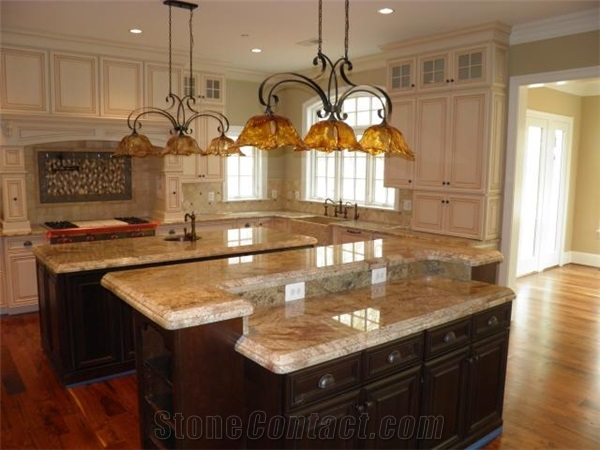 Granite top kitchen island Photo - 7 | Kitchen ideas