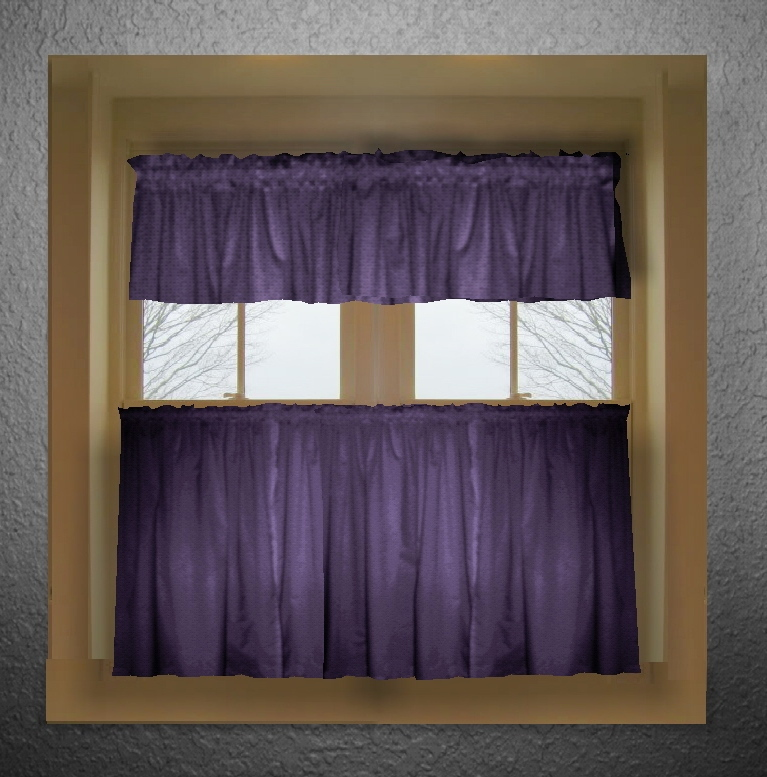 Grape Kitchen Curtains Photo - 11