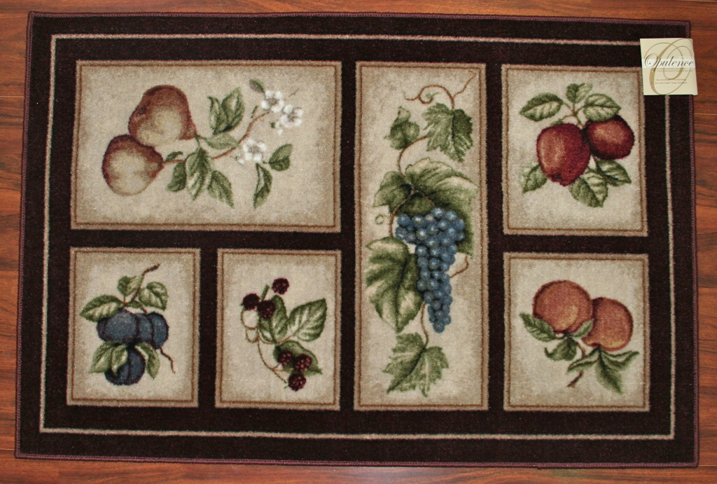 kitchen fruit rugs | roselawnlutheran