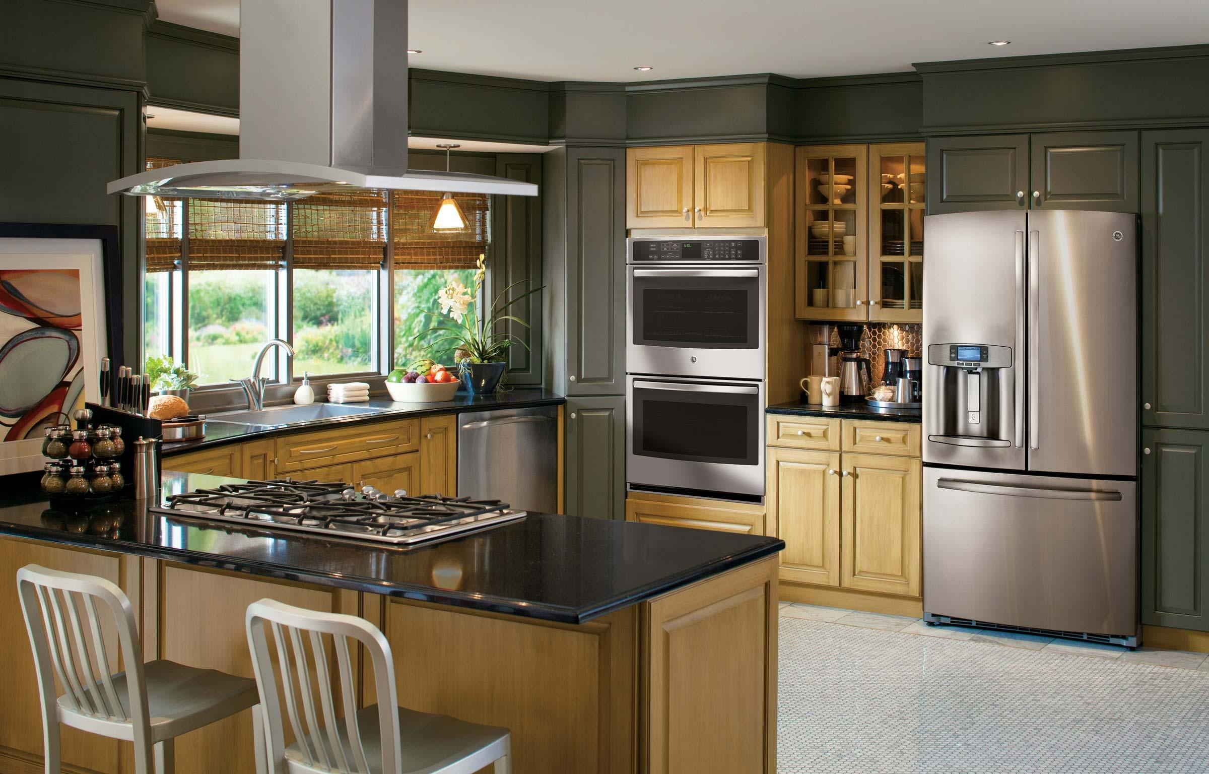 Green kitchen appliances Photo - 12