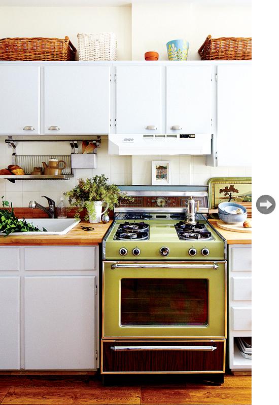 Green kitchen appliances Photo - 8