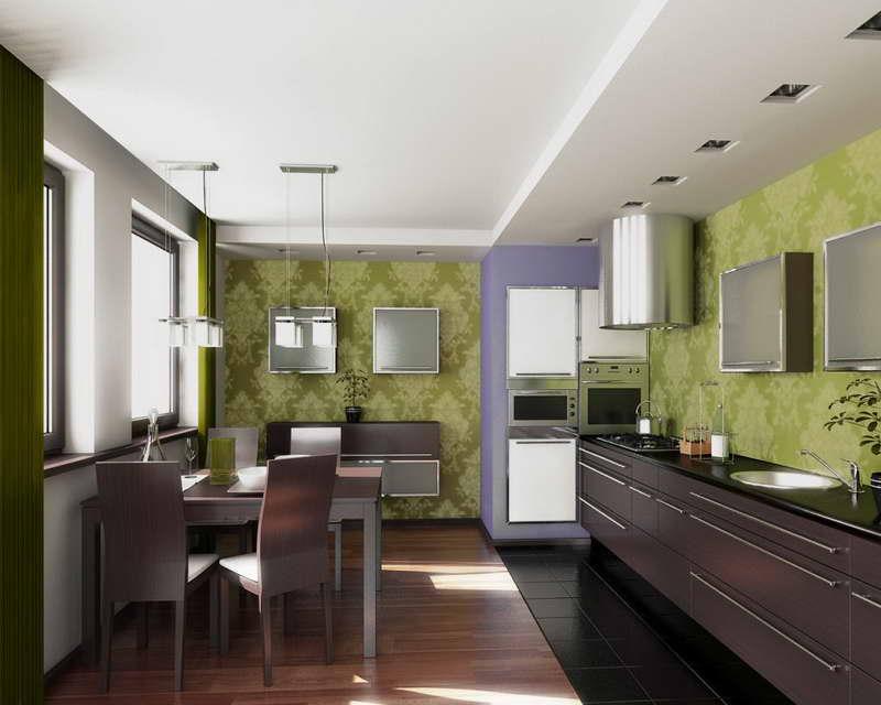Green kitchen chairs Photo - 3