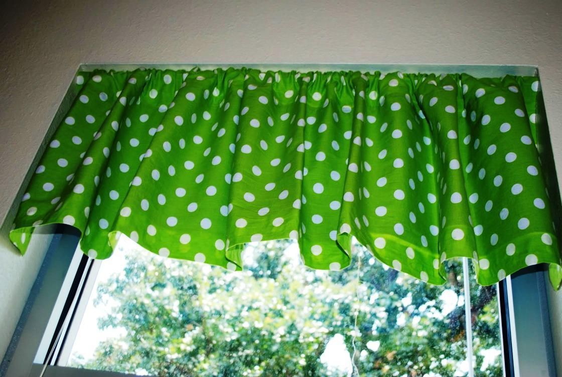 Green Kitchen Curtains Photo 10