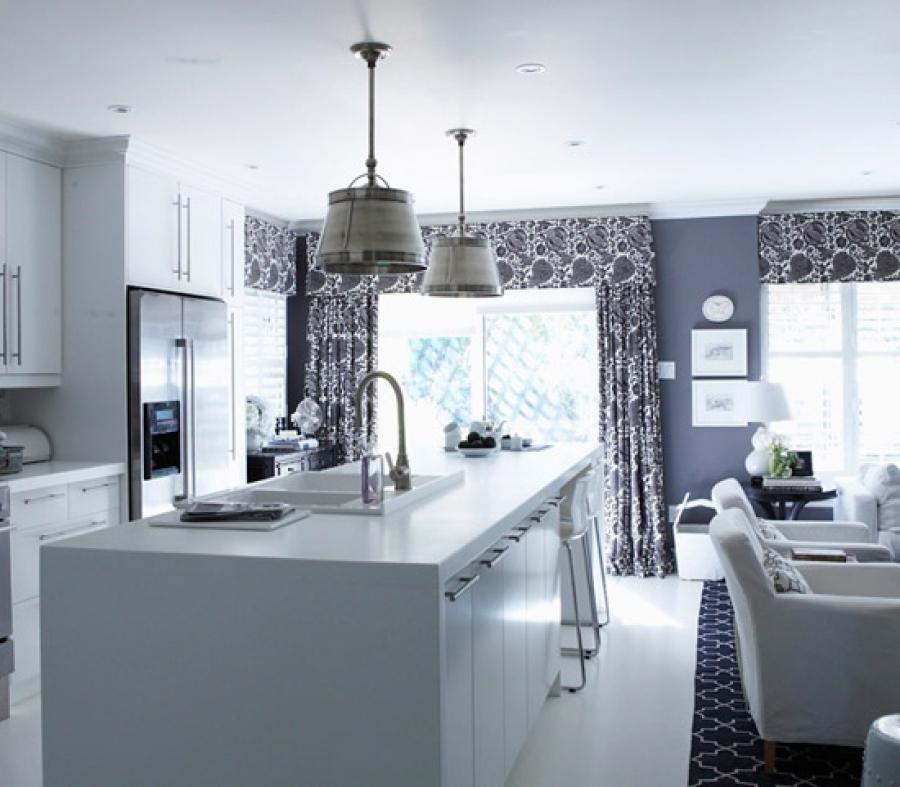 ... Grey Kitchen Curtains Photo   7 ...
