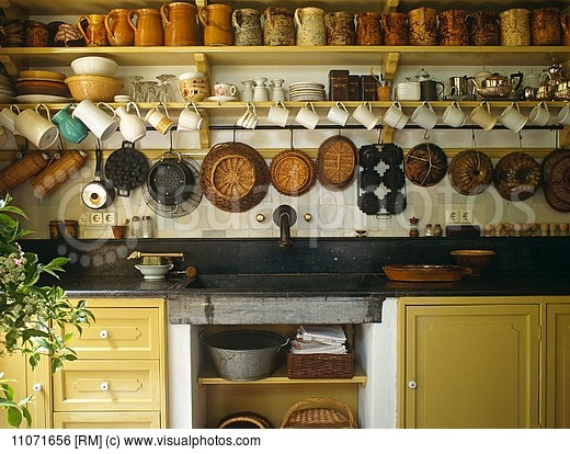 10 Photos To Hanging Kitchen Shelf