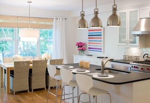 High back kitchen chairs Photo - 10