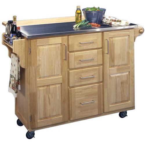 Home styles kitchen cart Photo - 5