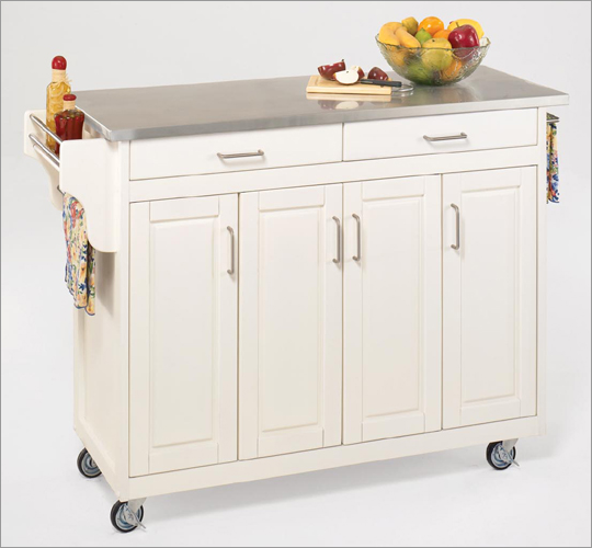Home styles kitchen cart Photo - 6