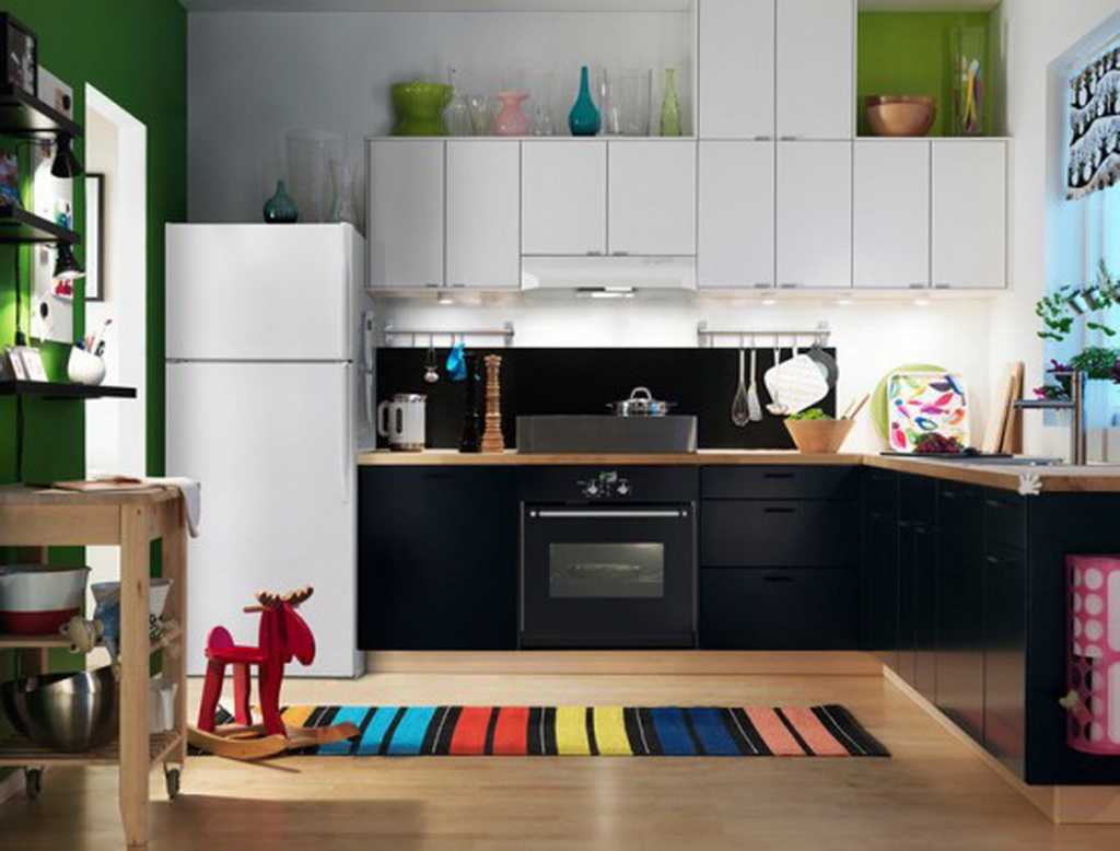 ikea kitchen rugs photo