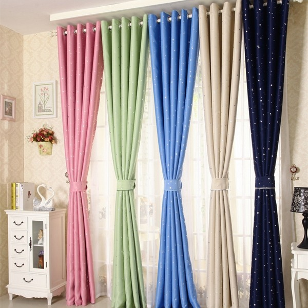 Thermal kitchen curtains