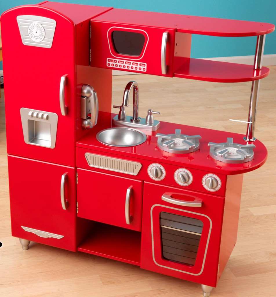 Retro kids kitchen