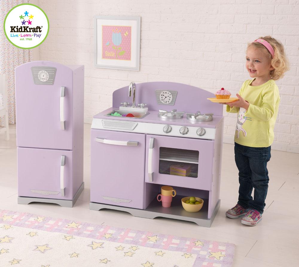 Kidcraft retro kitchen -  Kidkraft Retro Kitchen And Refrigerator In Pink Photo 4