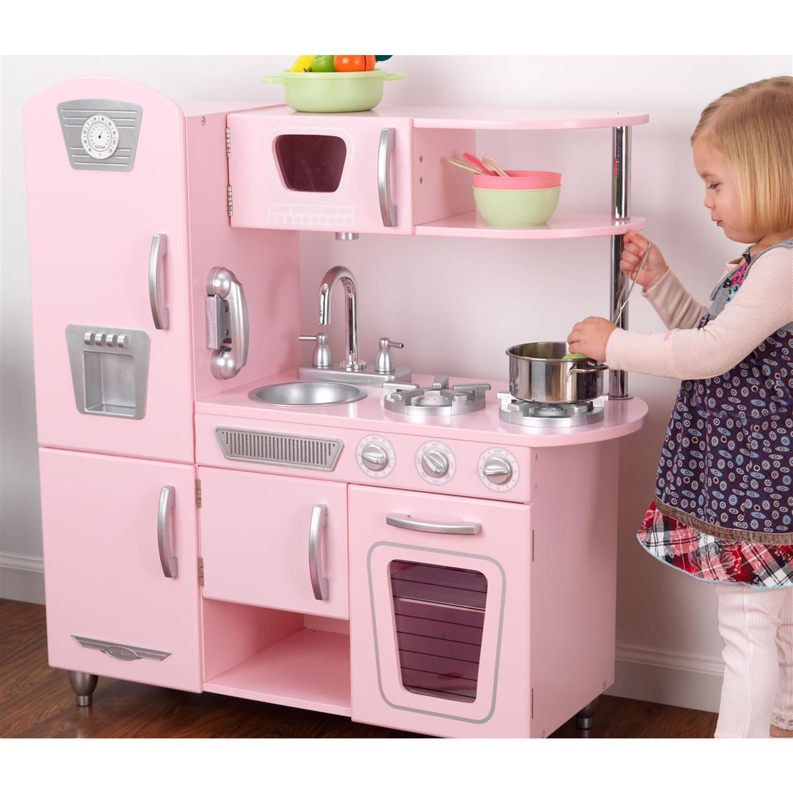 Kidkraft Vintage Kitchen In Pink Photo - 1
