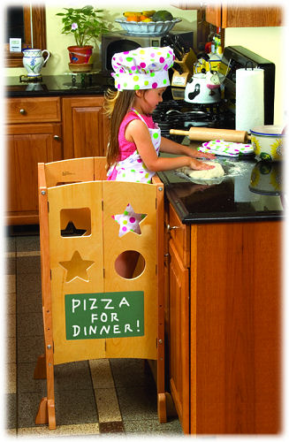 Kids kitchen step stool Photo - 3