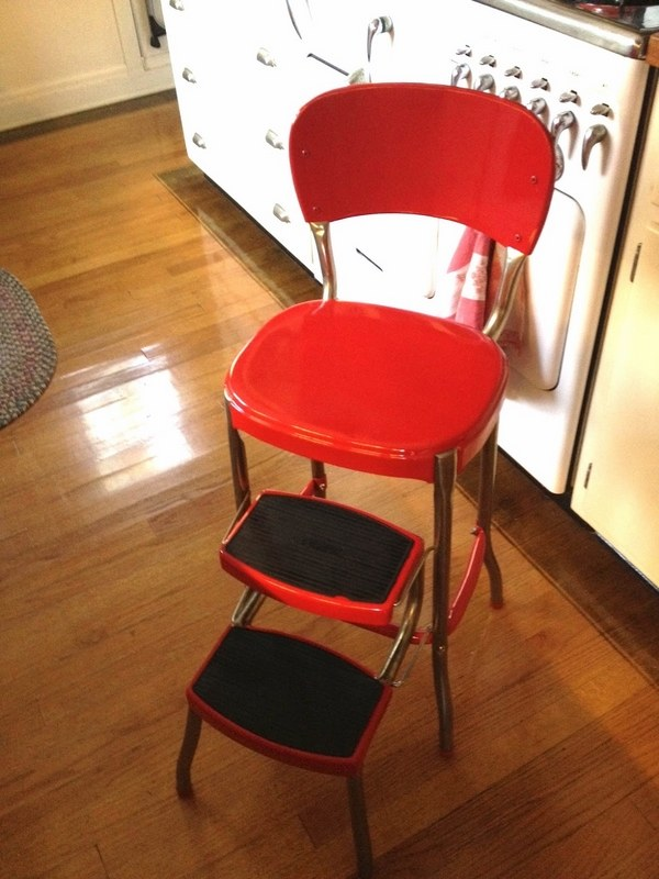 Kitchen Step Ladder Stool Lbs Upper Reach Reinforced
