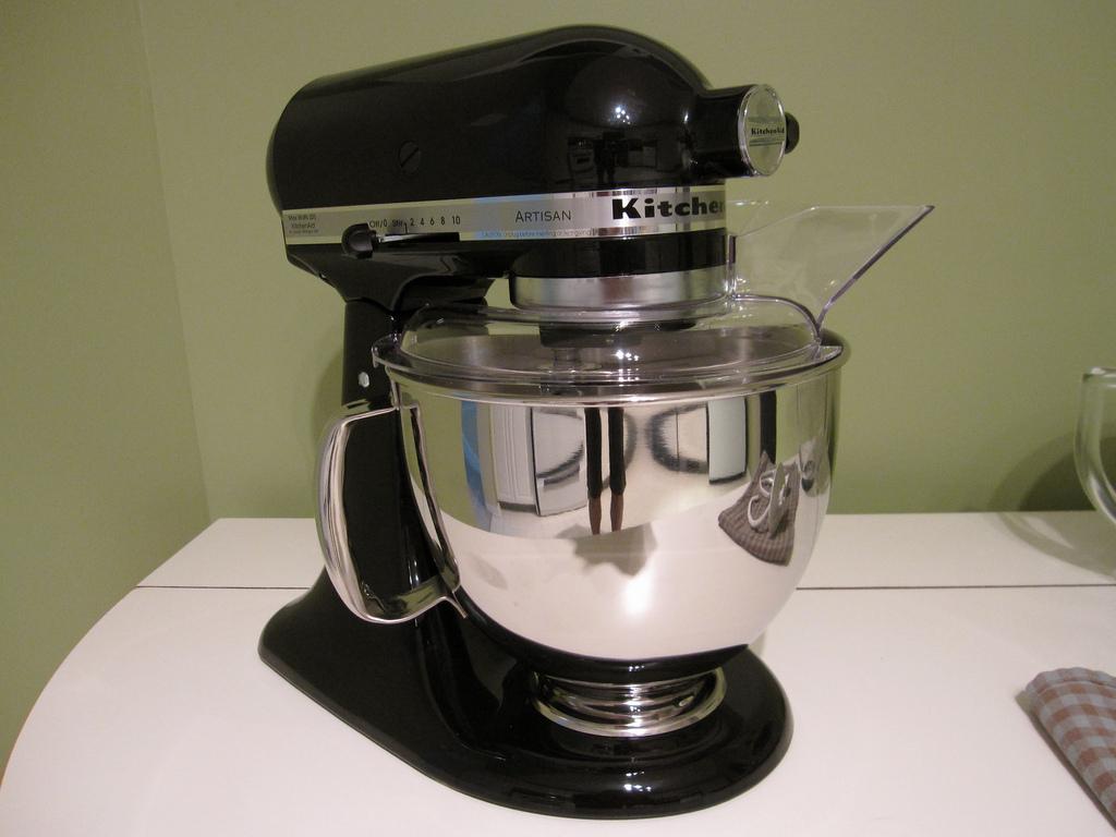 Kitchen aid mixer black Photo - 1