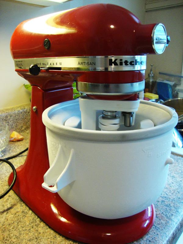 Kitchen aid mixer ice cream Photo - 11