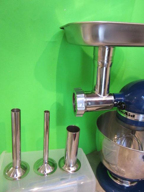 Kitchen aid mixer meat grinder Photo - 9