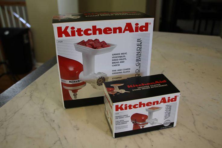 Kitchen aid mixer meat grinder Photo - 10
