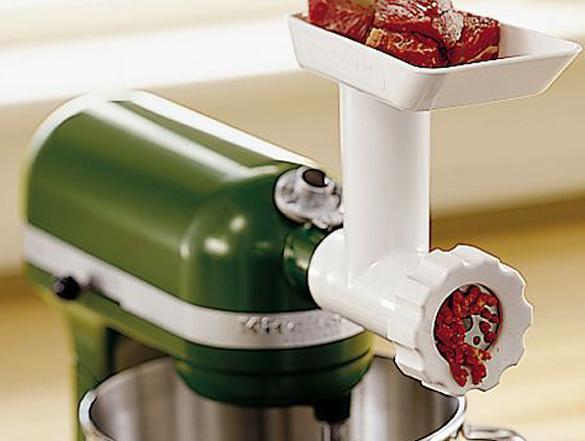 Kitchen aid mixer meat grinder Photo - 11