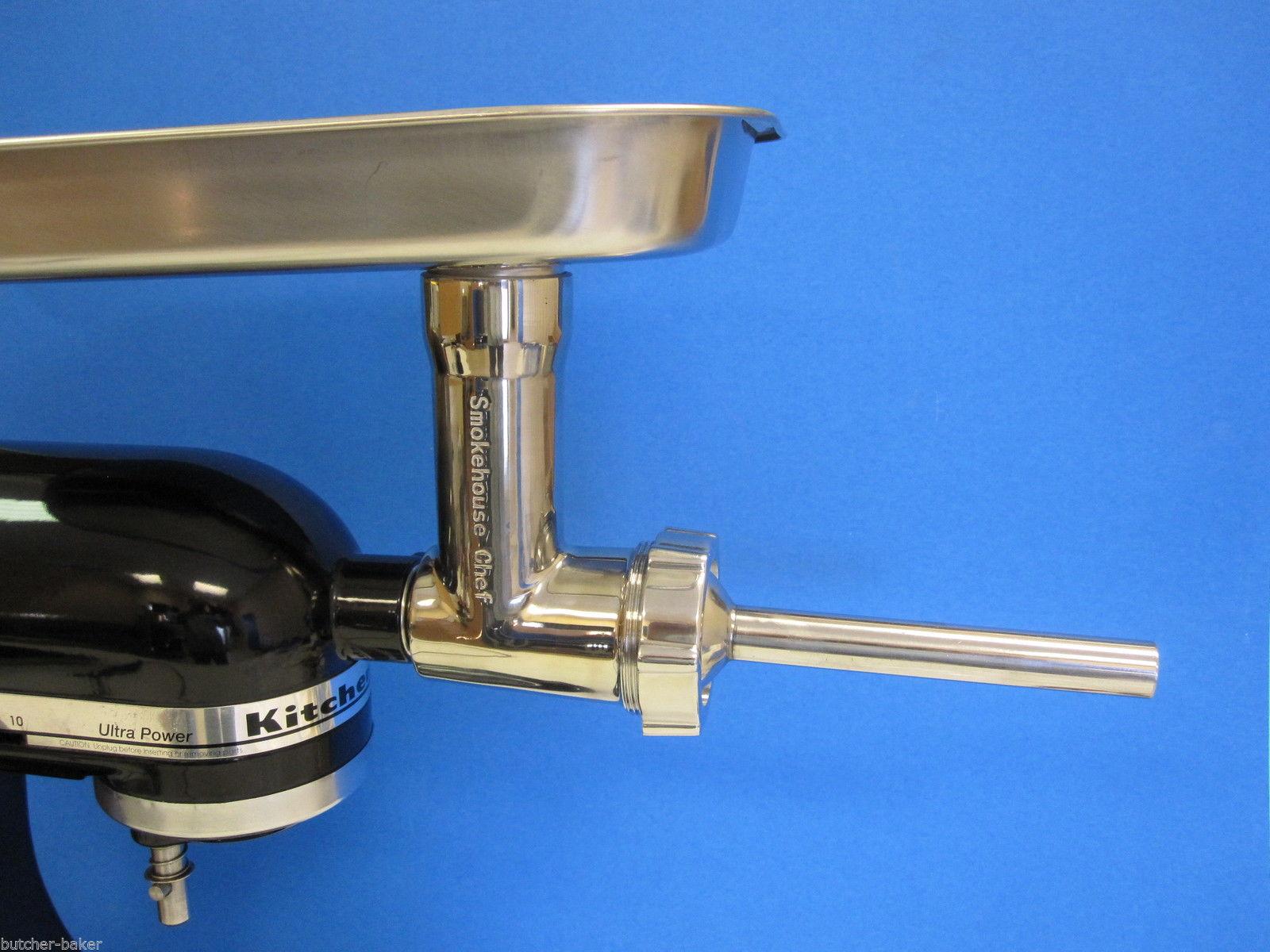 Kitchen aid mixer meat grinder Photo - 4