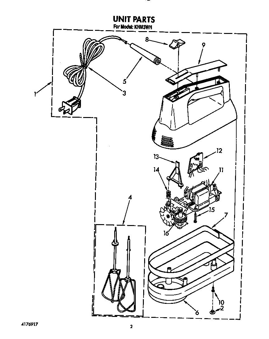 Kitchen aid mixer parts Photo - 3