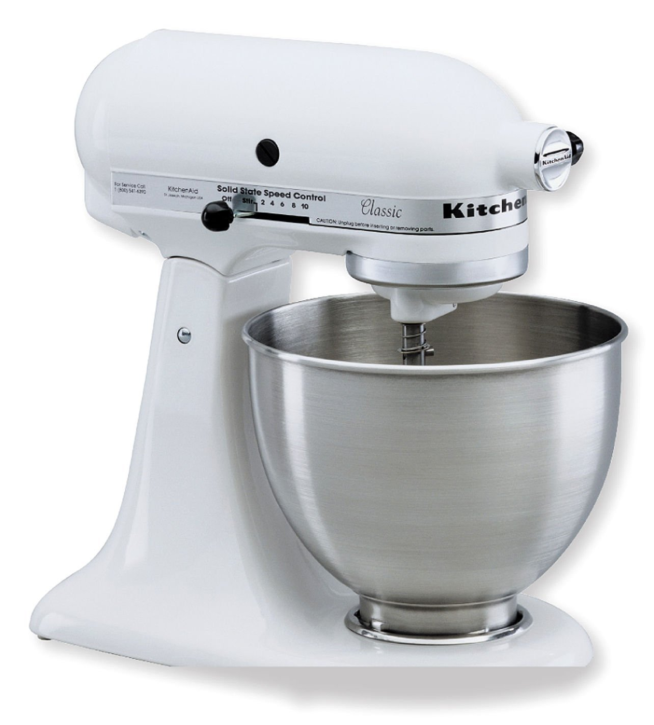 Kitchen aid mixer white Photo - 1