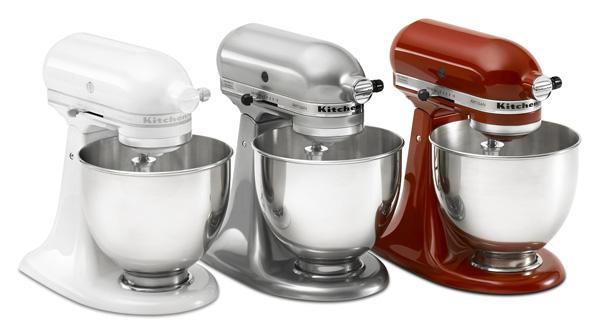 Kitchen aid mixer white Photo - 5