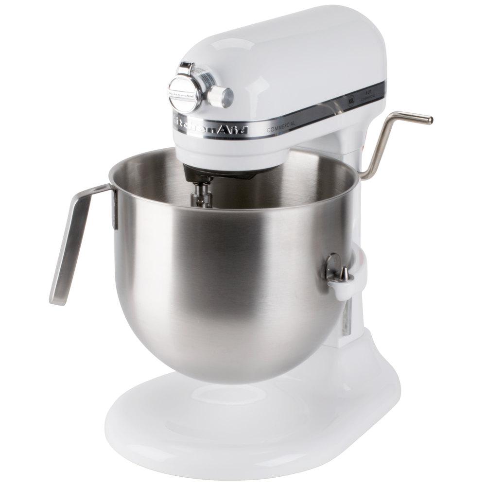 Kitchen aid mixer white Photo - 7