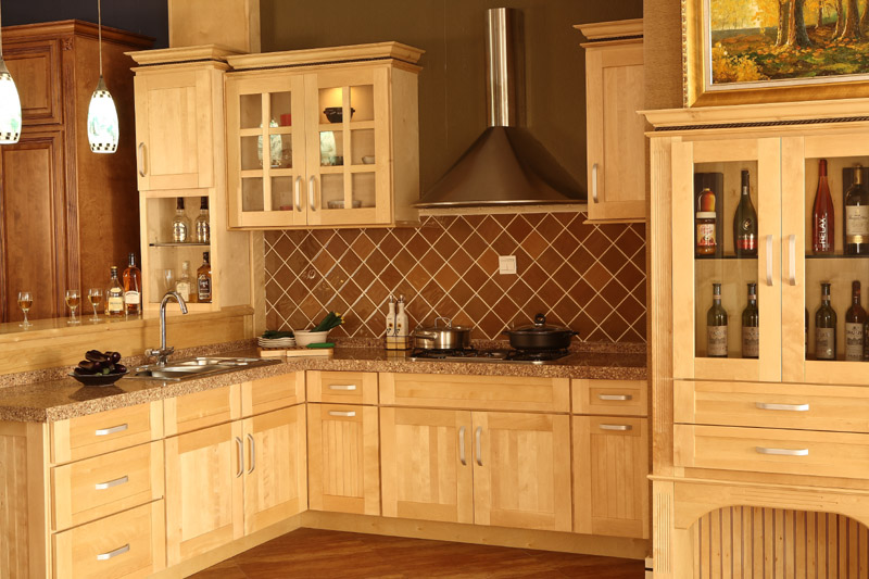 Kitchen armoire cabinets Photo - 10