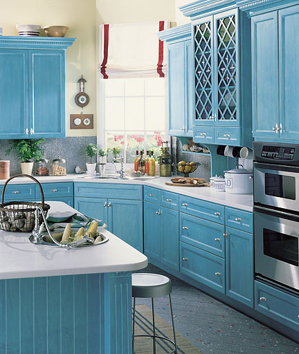 Kitchen armoire cabinets Photo - 7
