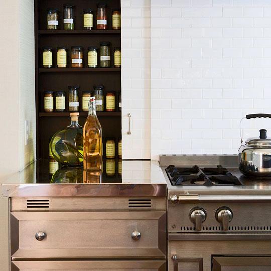 Kitchen art spice rack Photo - 9
