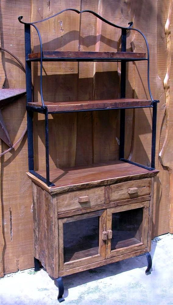 Kitchen bakers rack cabinets Photo - 12