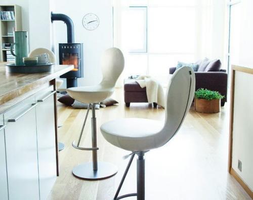 Kitchen bar stools swivel Photo - 9