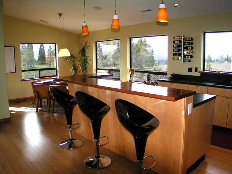 Kitchen bar stools swivel Photo - 6