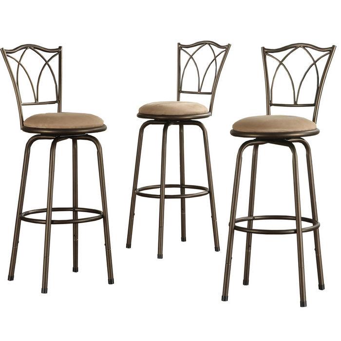 Kitchen bar stools swivel Photo - 7