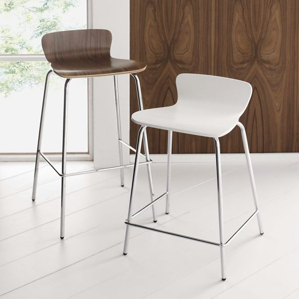 Kitchen bar stools with backs Photo - 1